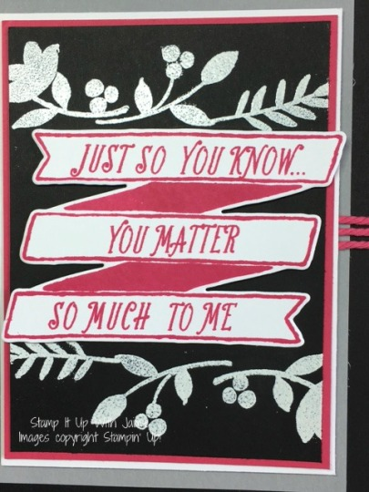Banners For You - Stampin Up - Stamp It Up With Jaimie