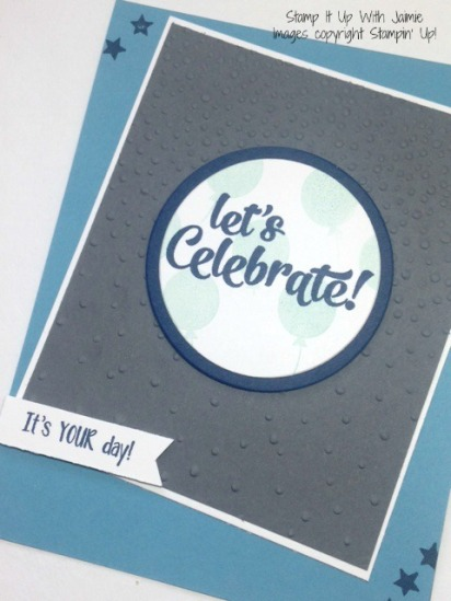 Confetti Celebration - Stamp It Up With Jaimie - Stampin Up