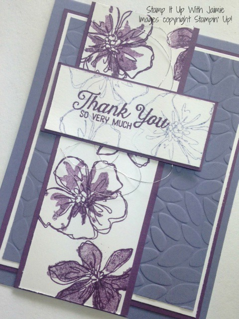 Penned & Painted - Stamp It Up With Jaimie - Stampin Up
