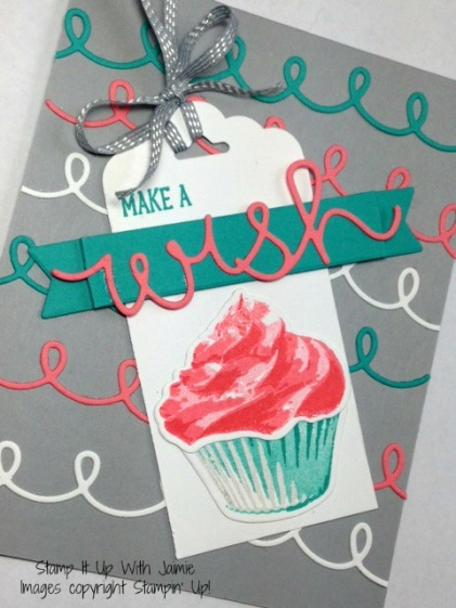Sweet Cupcake - Stamp It Up With Jaimie - Stampin Up