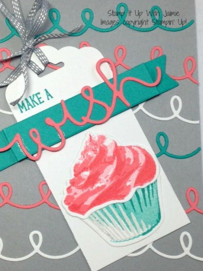 Sweet Cupcake - Stampin Up - Stamp It Up With Jaimie