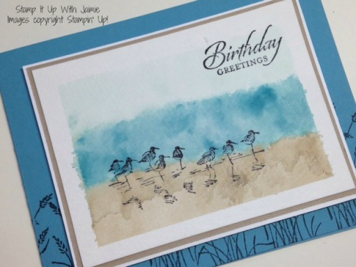 Wetlands - Stamp It Up With Jaimie - Stampin Up