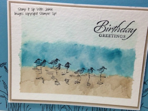 Wetlands - Stampin Up - Stamp It Up With Jaimie
