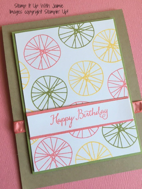 Balloon Celebration - Stamp It Up With Jaimie - Stampin Up