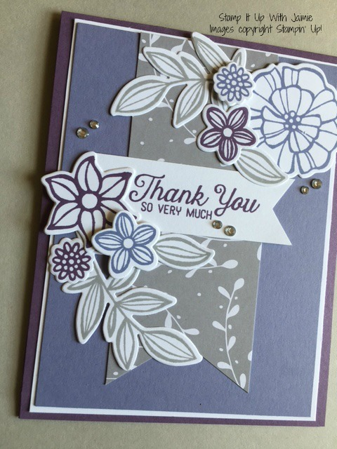 Falling Flowers - Stamp It Up With Jaimie - Stampin Up