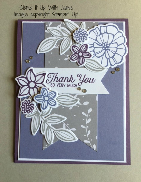 Falling Flowers - Stamp It Up With Jaimie