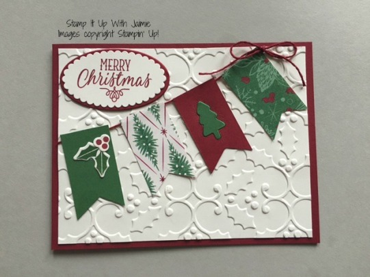 Merry Christmas - Stamp It Up With Jaimie