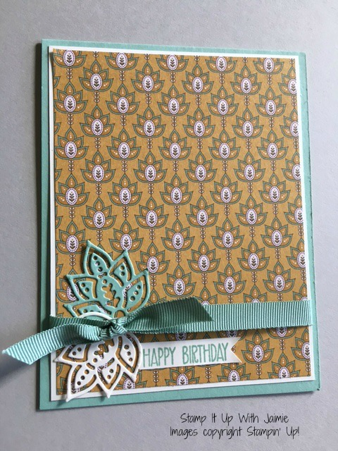 Petals & Paisleys - Stamp It Up With Jaimie - Stampin Up