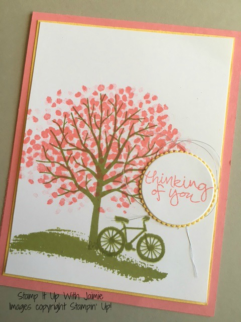 Sheltering Tree - Stampin Up - Stamp It Up With Jaimie