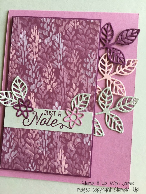 Flourishing Phrases - Stampin Up - Stamp It Up With Jaimi