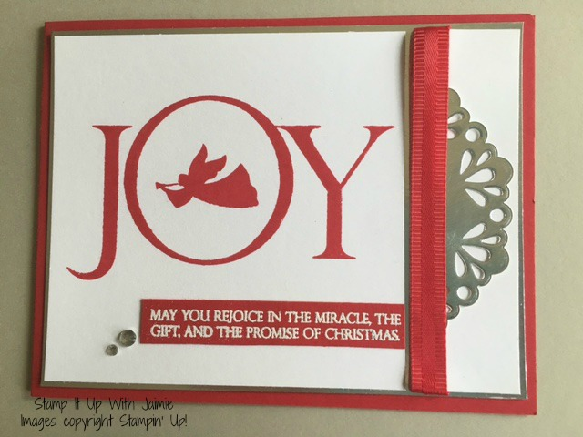 Joyful Nativity - Stampin Up - Stamp It Up With Jaimie