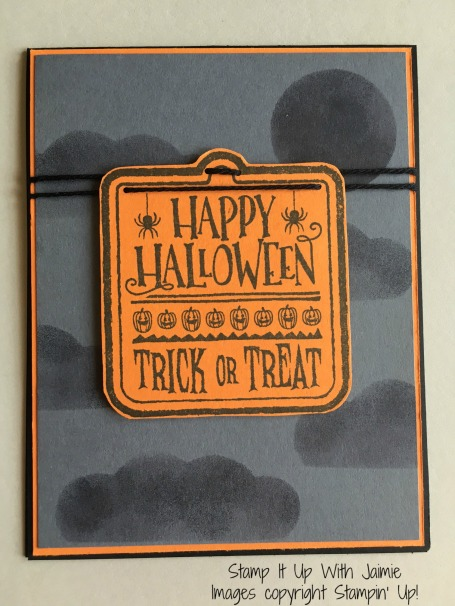 Trick or Treat - Stamp It Up With Jaimie