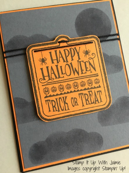 Trick or Treat - Stampin Up - Stamp It Up With Jaimi