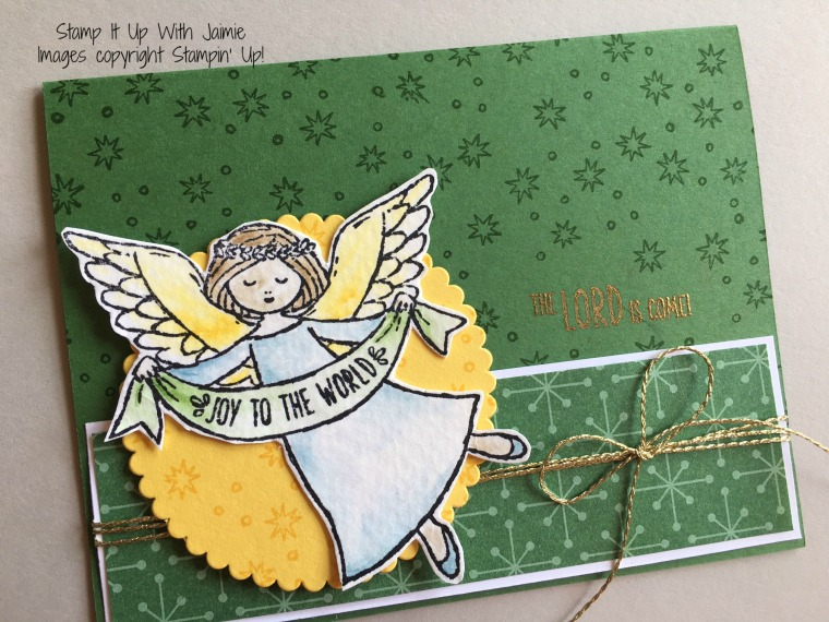 Wonder of Christmas - Stamp It Up With Jaimie - Stampin Up
