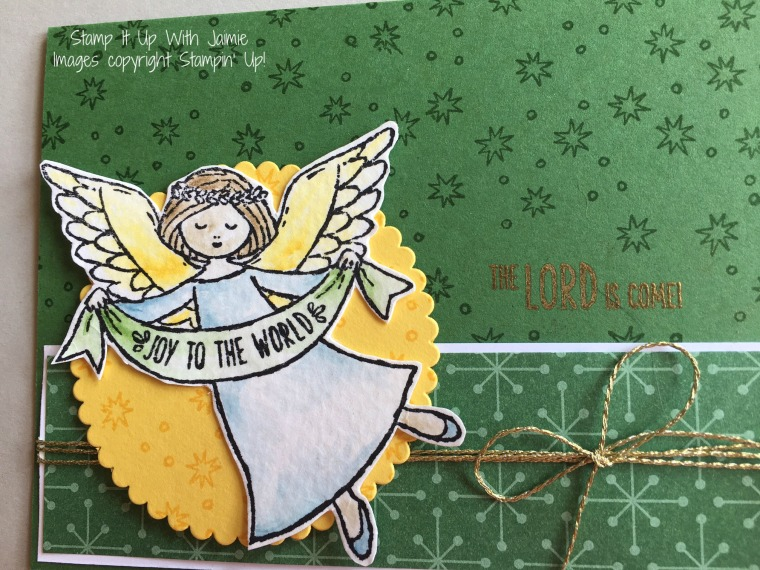 Wonder of Christmas - Stampin Up - Stamp It Up With Jaimie