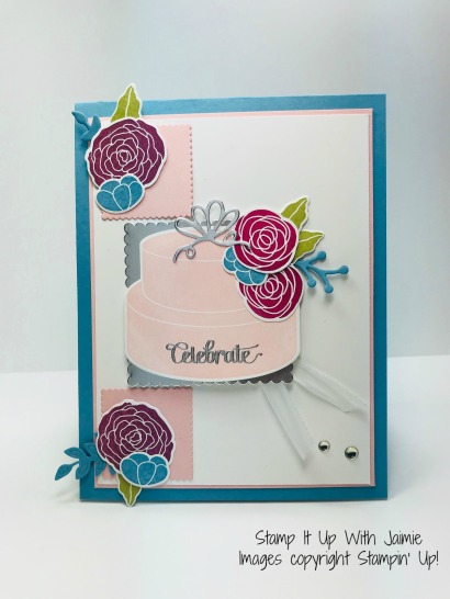 Stampin Up Cake Soiree Celebrate Card Stamp It Up