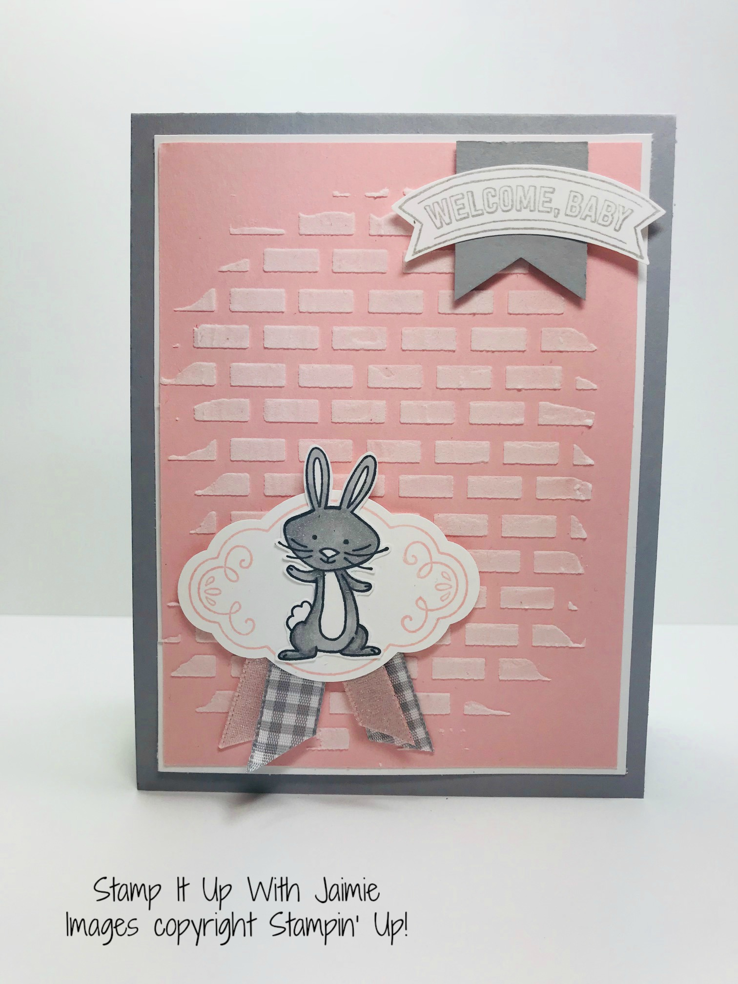 Stampin Up We Must Celebrate Baby Card Stamp It With Jaimie