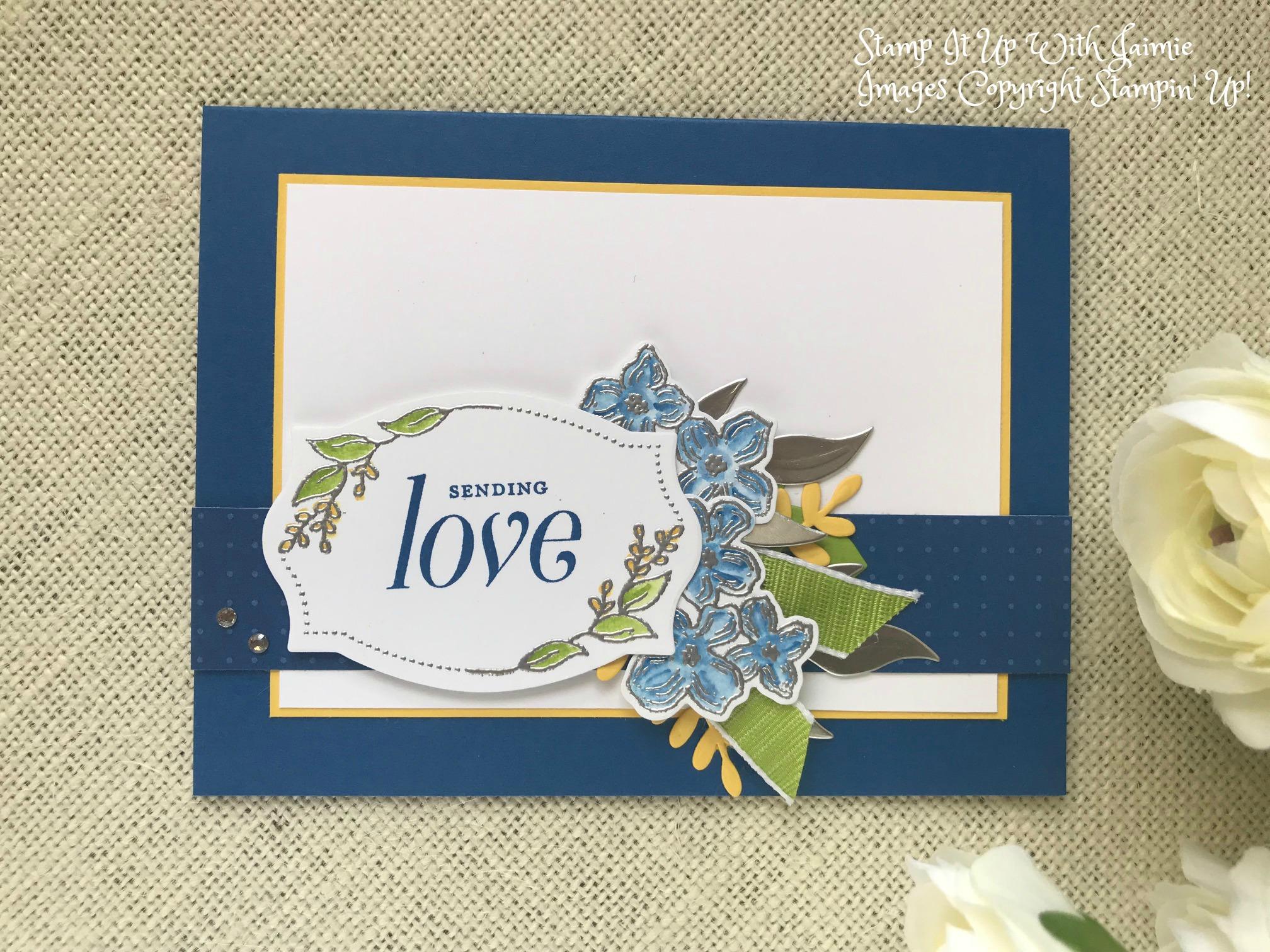 Stampin Up Floral Frames Sending Love Stamp It Up
