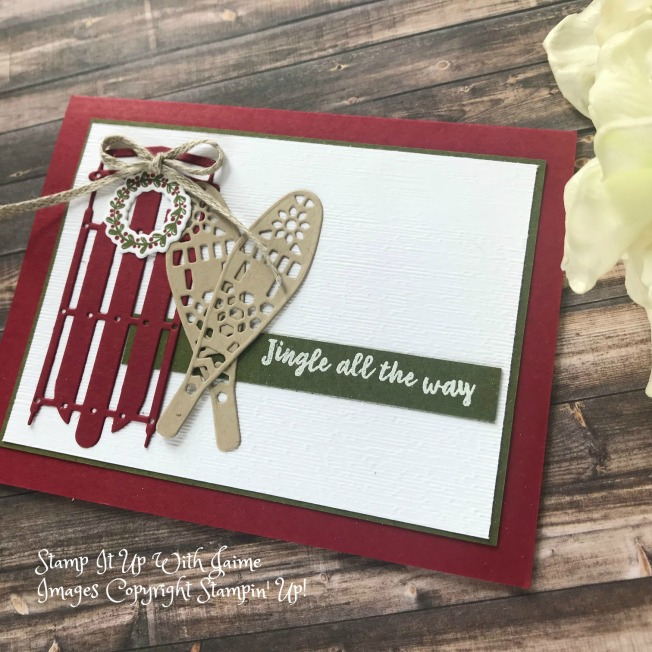 Sneak Peek Stampin Up Alpine Adventure Stamp It Up