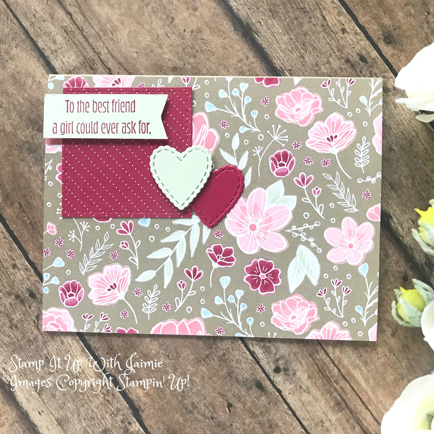 Stampin Up NEW Meant To Be Card Stamp It Up With Jaimie