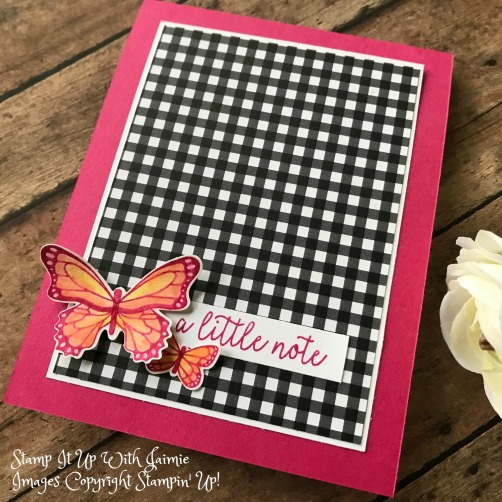 Stampin' Up! Butterfly Gala – FMS367 – Stamp It Up with Jaimie