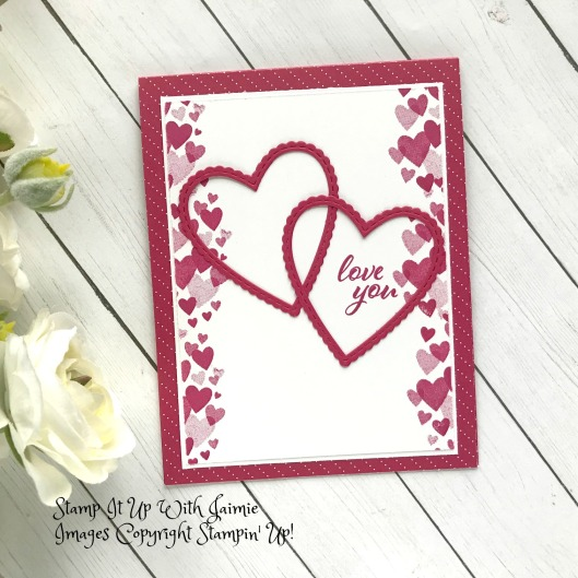 Stampin Up Forever Lovely Valentine S Day Card Stamp It Up With