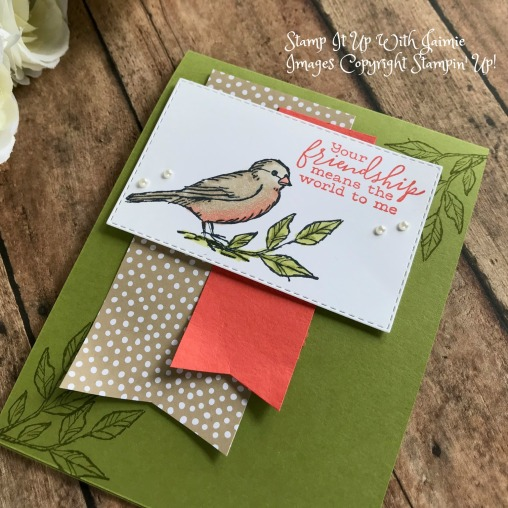 Stampin' Up! *NEW* Free As A Bird Card – Stamp It Up with Jaimie