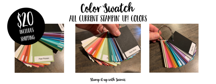 Color swatches shipping cost