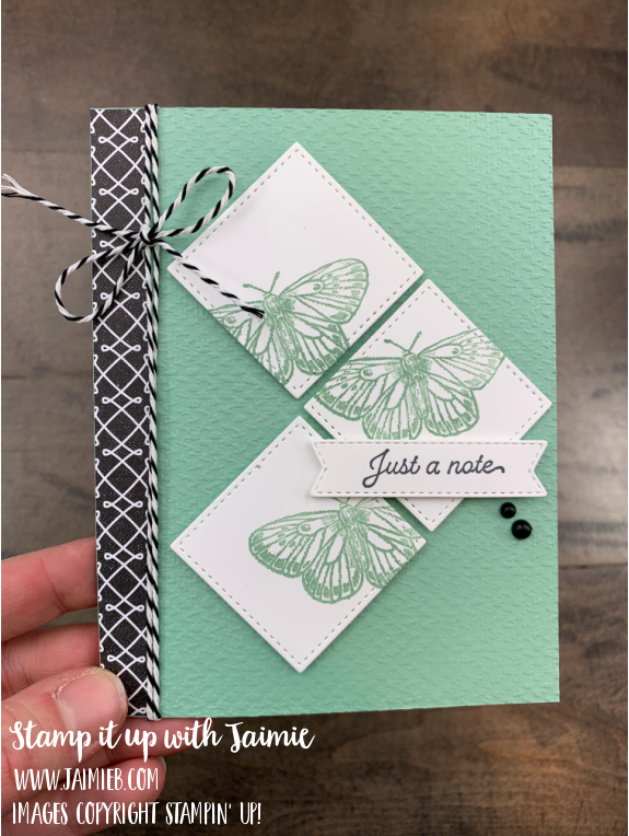 Stampin Up Butterfly Brilliance Card and Video