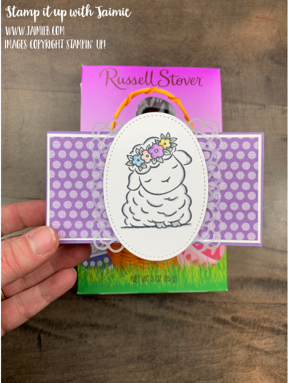 Stamping' Up! Spingtime Joy Easter Card