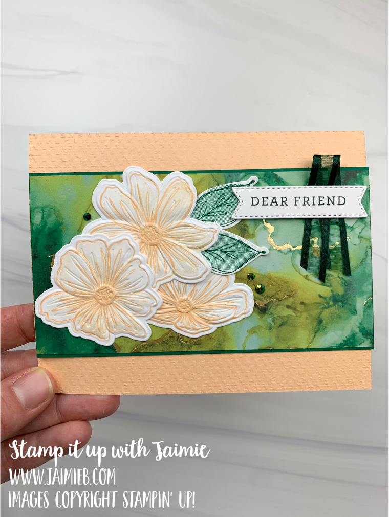Stampin' Up! Art in Bloom Friend Card