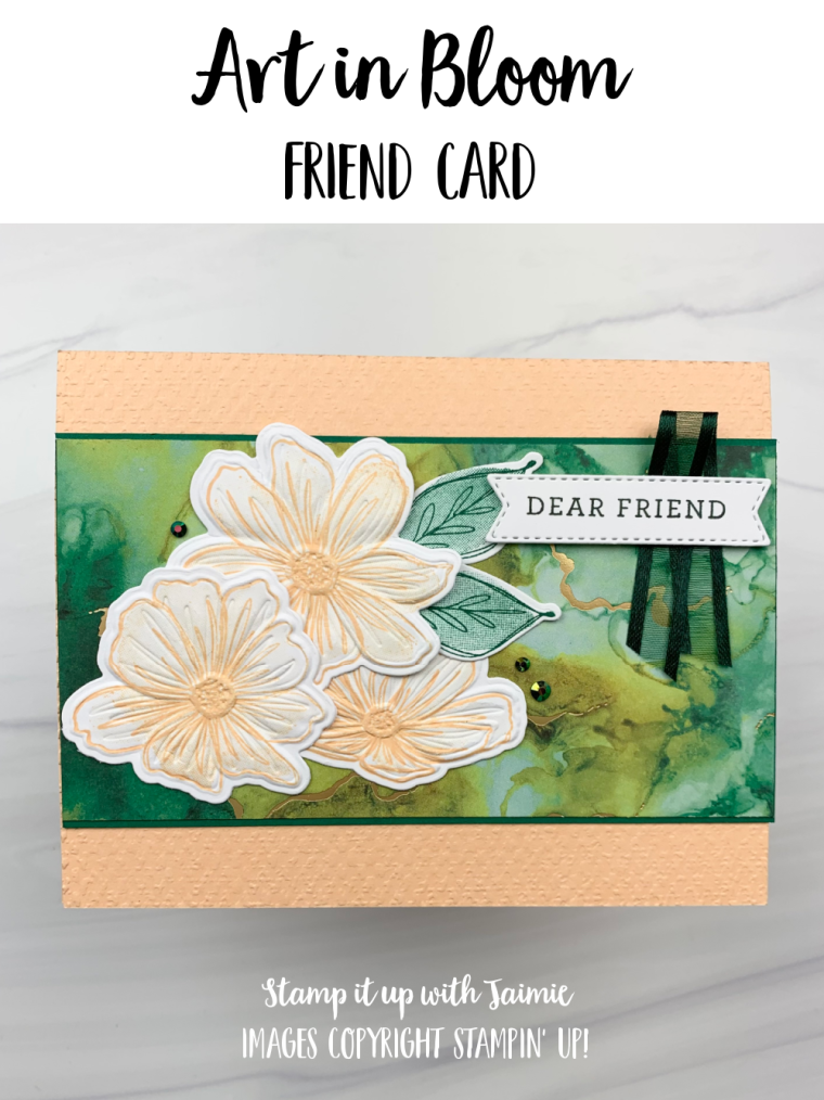 Stampin Up Art in Bloom Card