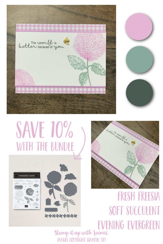 Stampin' Up! Hydrangea Haven
