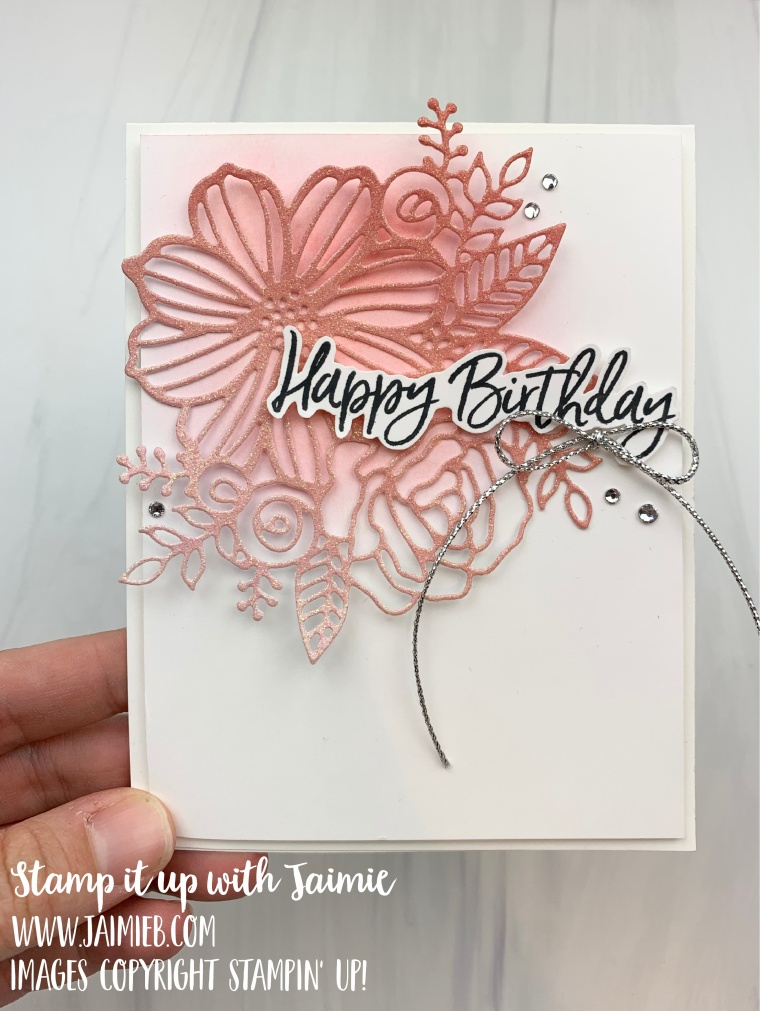 Stampin' Up! Artistically Inked Birthday Card