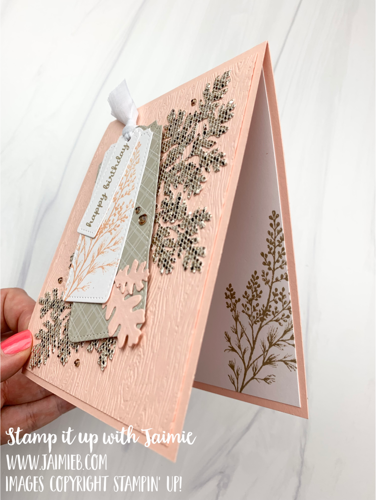 Stampin' Up! Beauty of Tomorrow Birthday Card