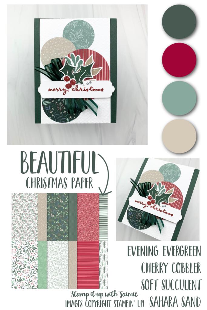 Stampin' Up! Christmas Season Card