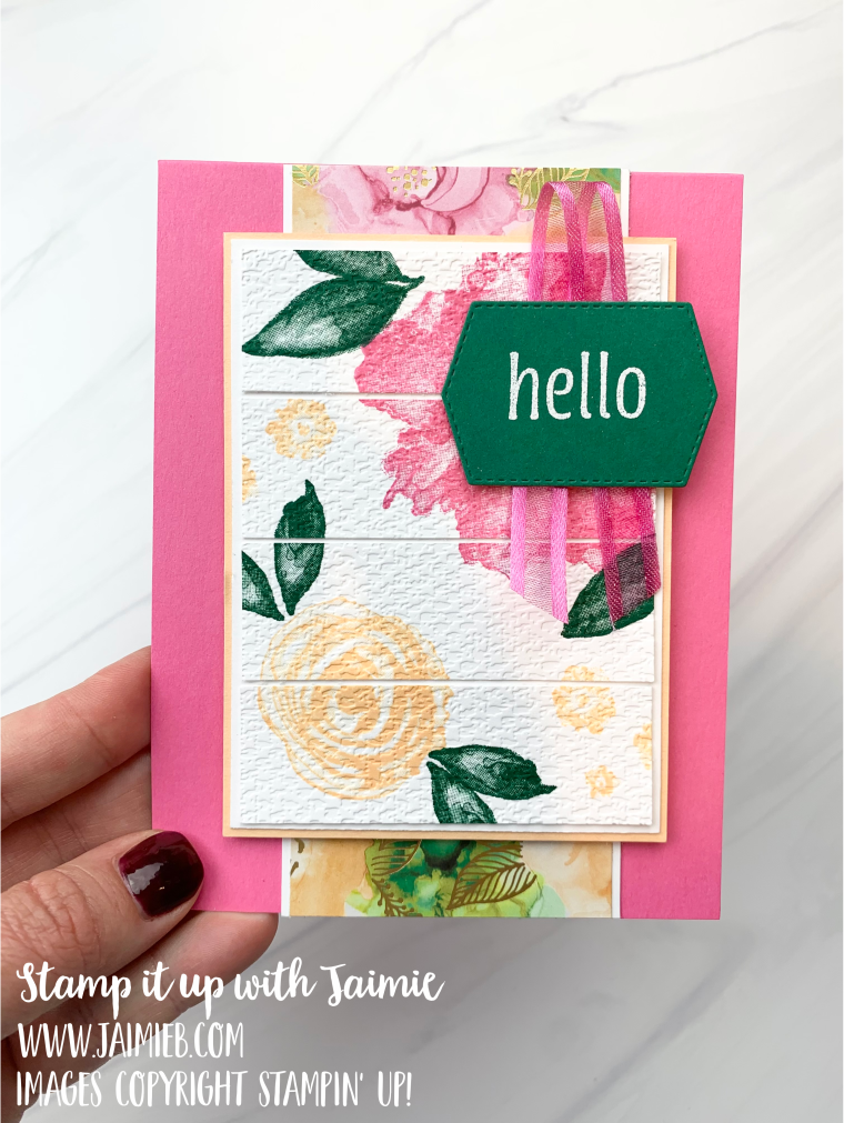 Stampin' Up! Artistically Inked Card
