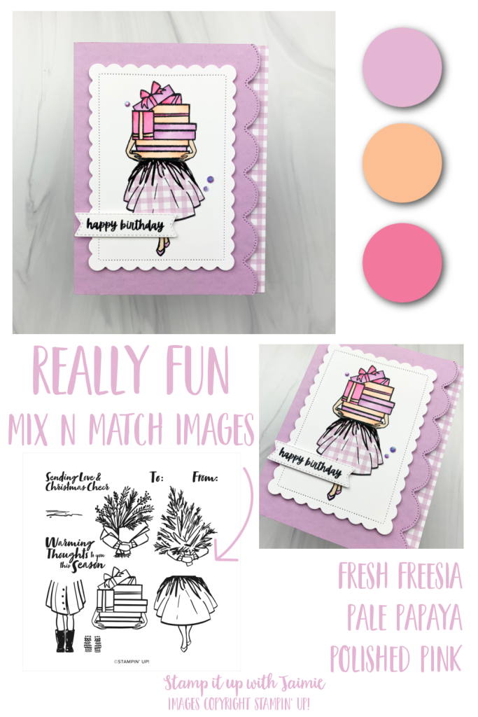 Stampin' Up! Delivering Cheer Birthday Card