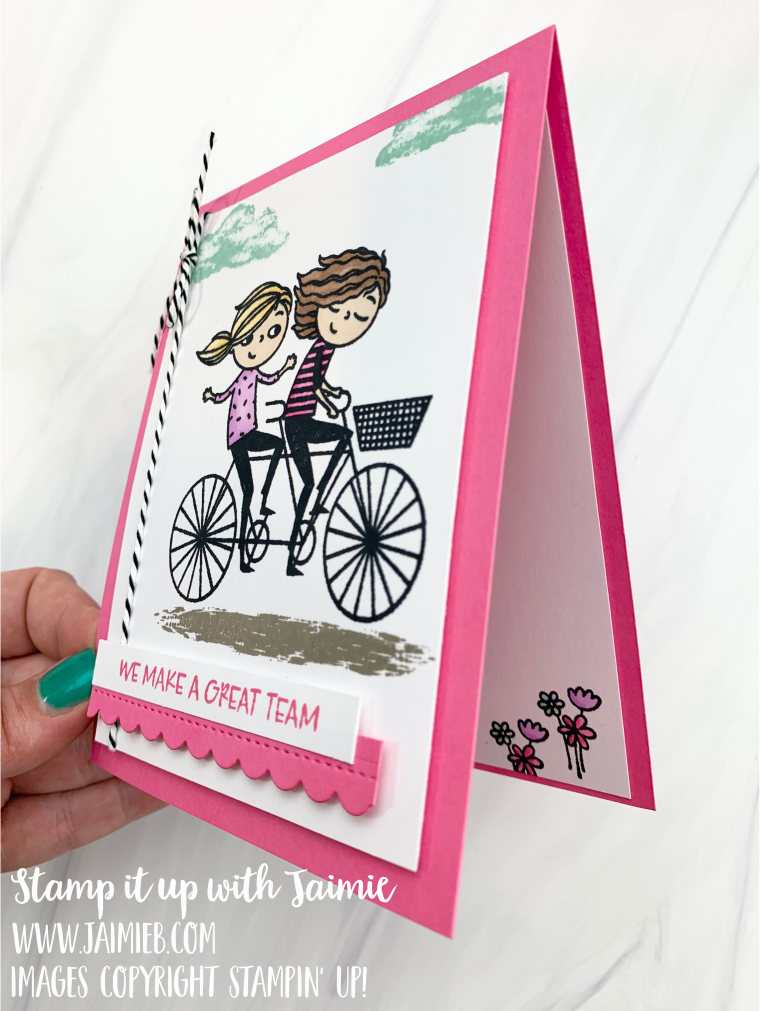 Stampin' Up! Right Behind You Card