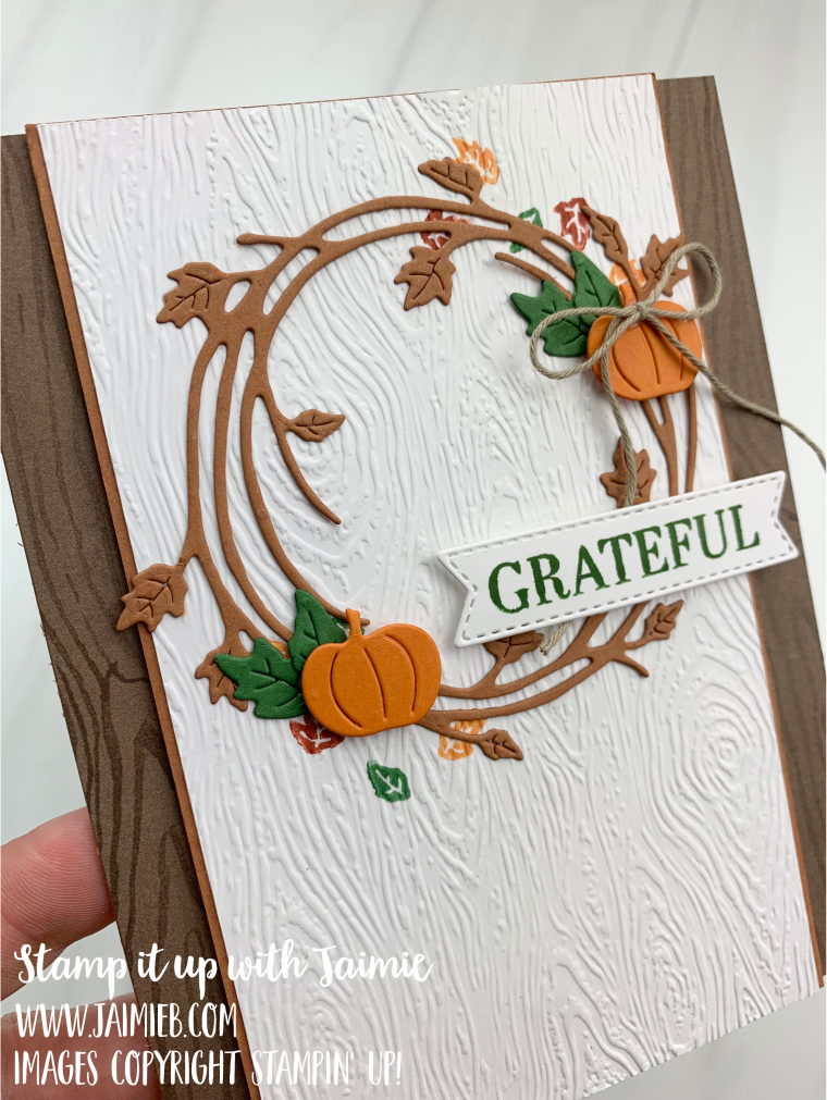 Stampin' Up! Sparkle of the Season Thank You Card