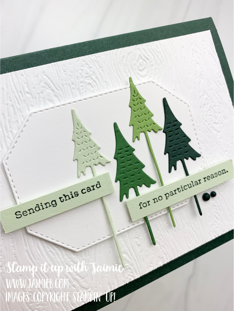Stampin' Up! Whimsical Trees Card