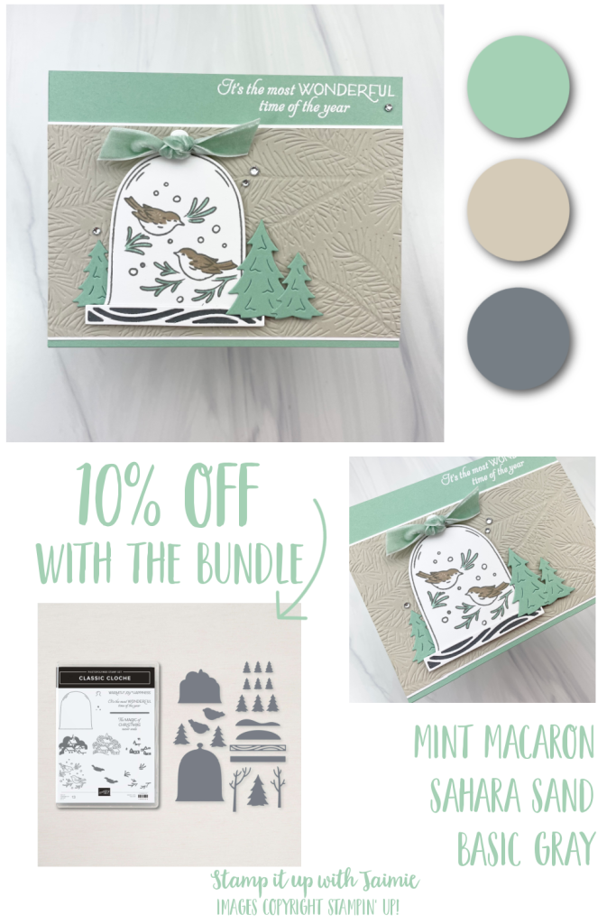Stampin' Up! Classic Cloche Christmas Card