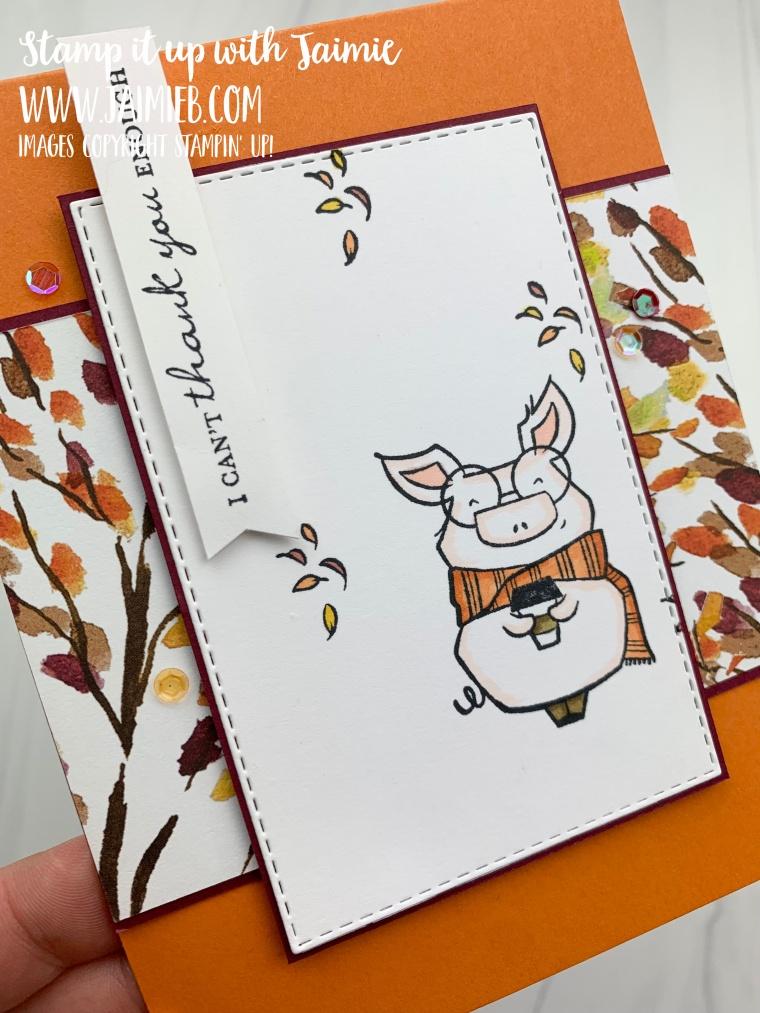 Stampin' Up! Joyful Life Thank You Card