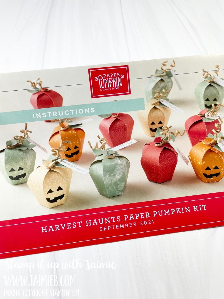 Stampin' Up! September 2021 Paper Pumpkin
