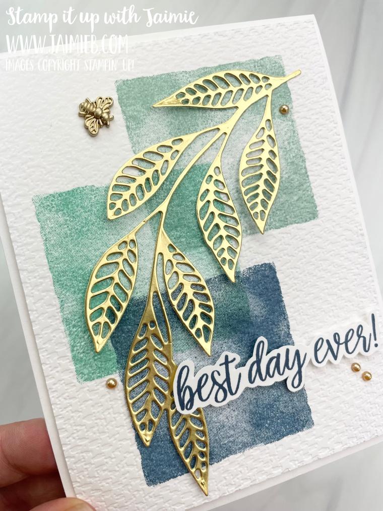 Stampin' Up! Watercolor Shapes Card