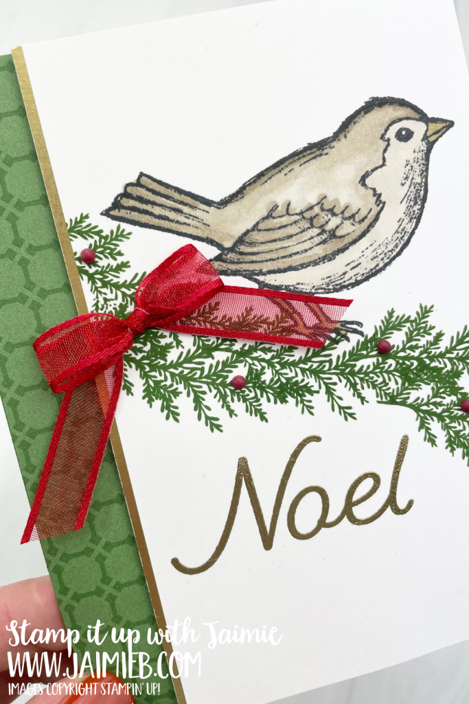 Stampin' Up! Happy Holly-Days Card